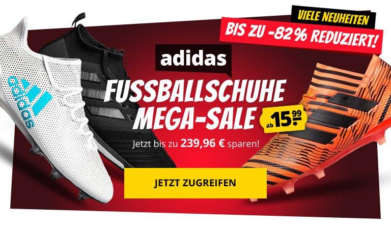SportSpar: ☆ adidas Fußballschuhe SALE ☆ bis zu 82% Rabatt