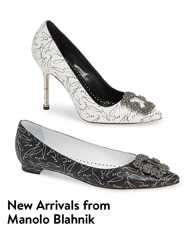 New arrivals from Manolo Blahnik.