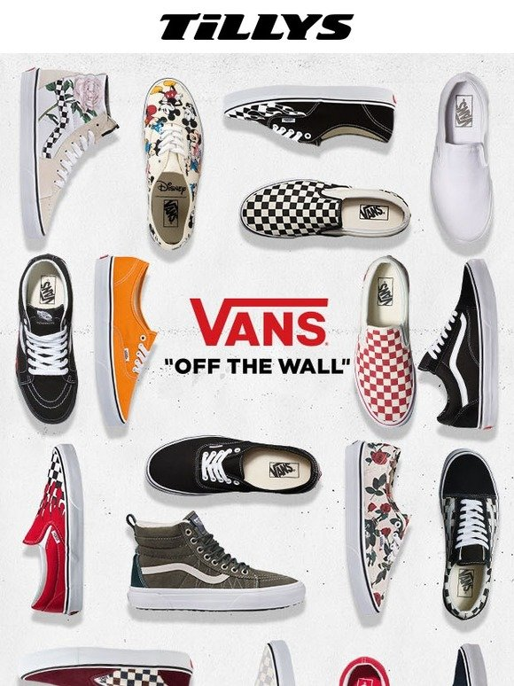 f956a6b139 Tilly s  VANS SHOES