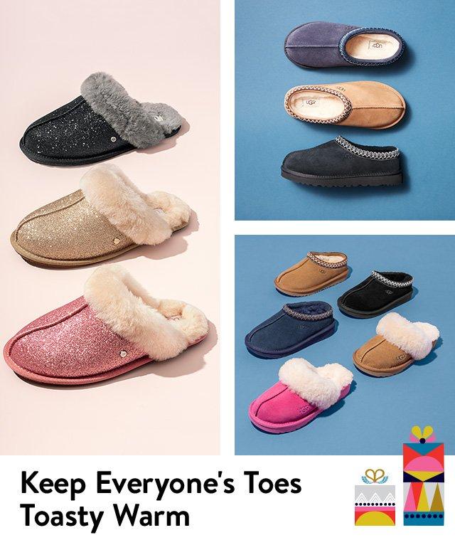 Keep everyone's toes toasty warm.
