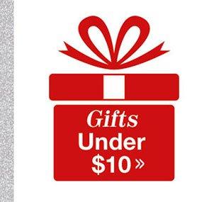 Shop Gifts Under $10!