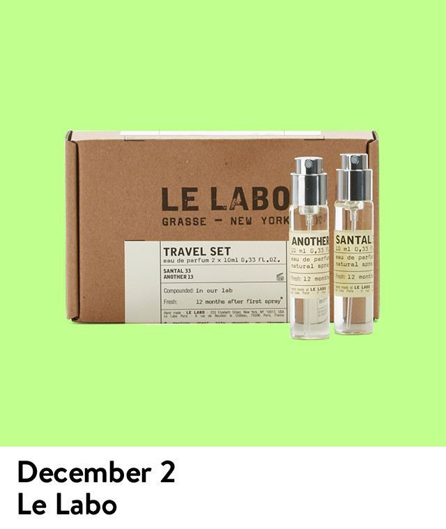 The Daily Drop gift of the day: Le Labo.