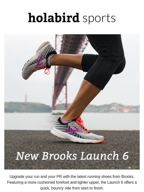 Holabird Sports: Save big on top running shoes! Plus, Brooks
