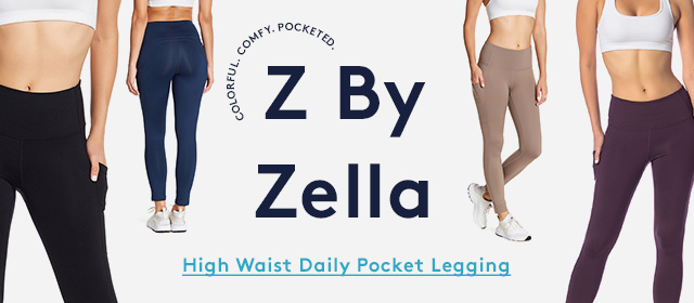 Colorful. Comfy. Pocketed. | Z by Zella | High Waist Daily Pocket Legging