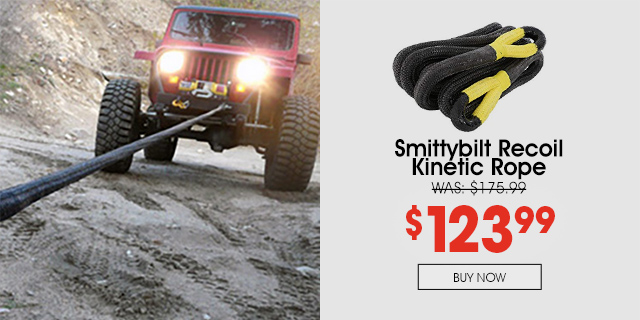 Purchase Smittybilt Recovery Rope and save 30%