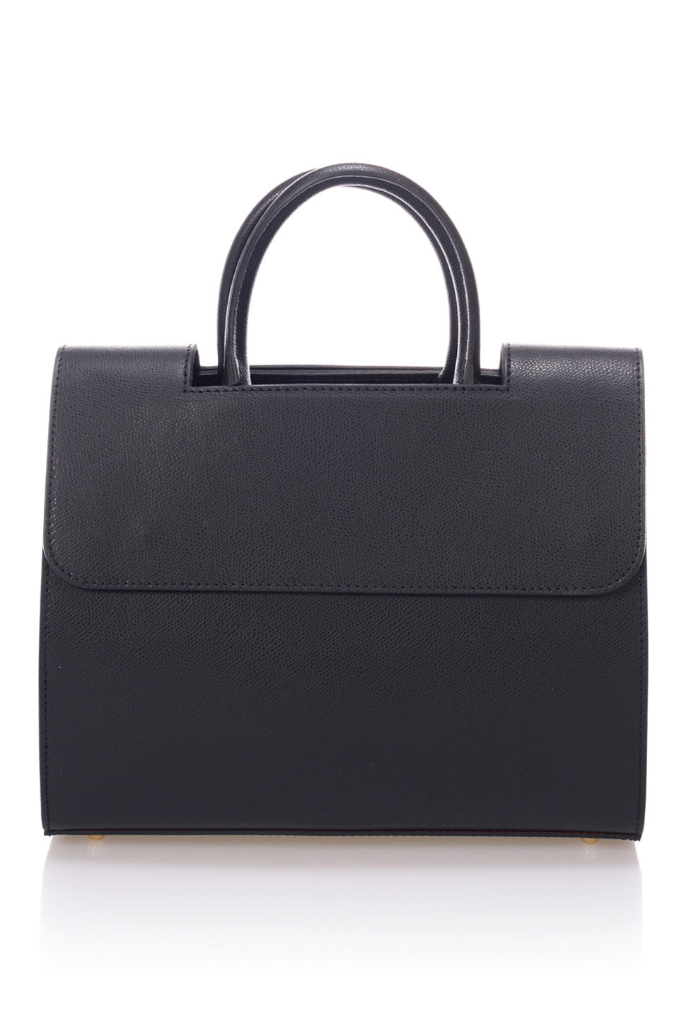 Iris Top Handle Bag in Black