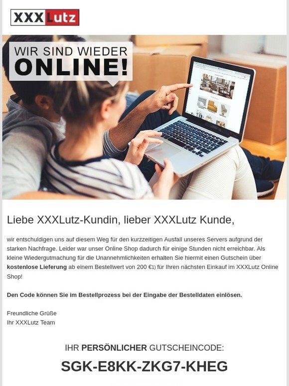 Xxxl Einrichtungshäuser Online Shop Wir Sind Wieder Online Milled
