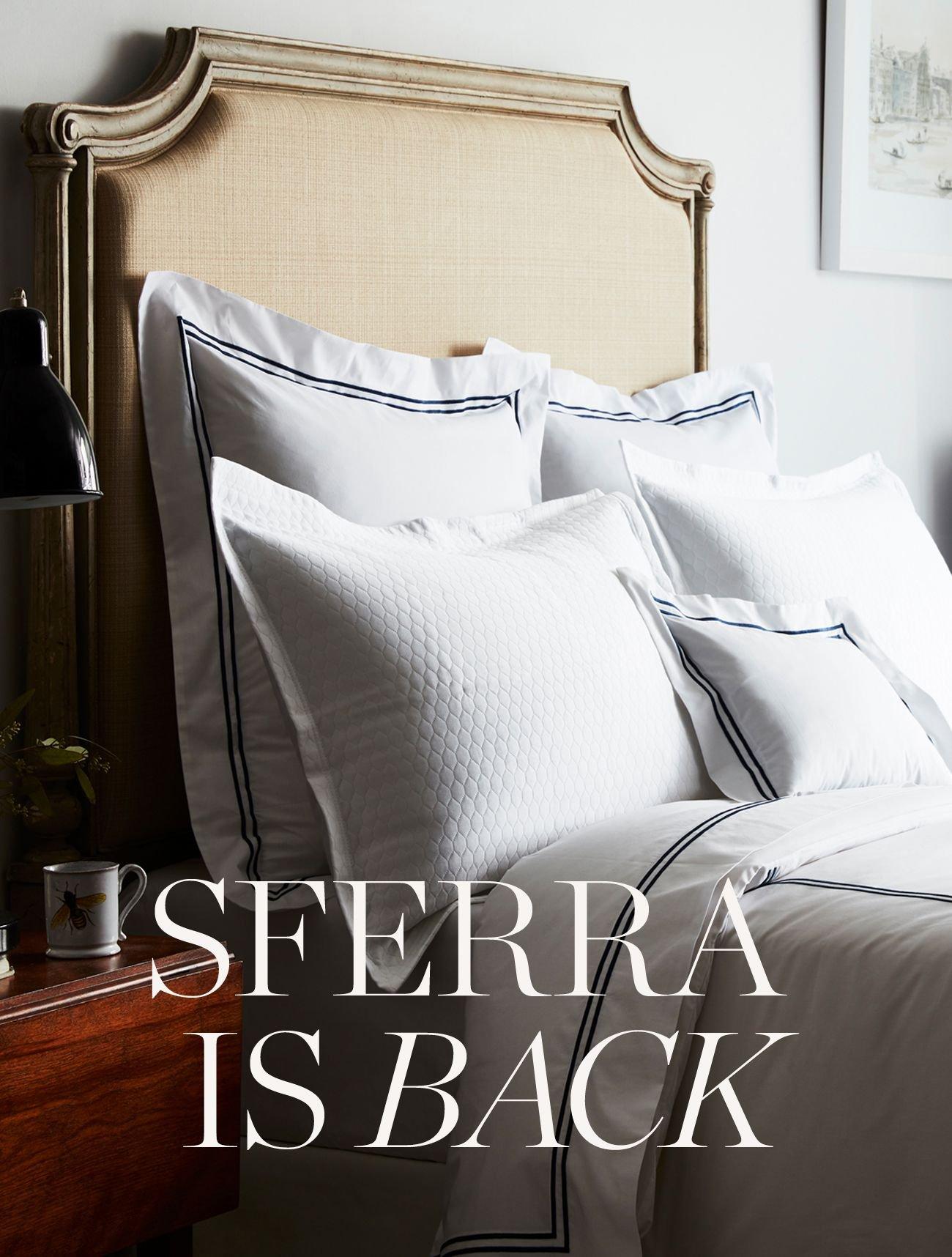 SFERRA IS BACK!