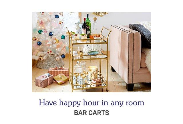 Shop bar carts.
