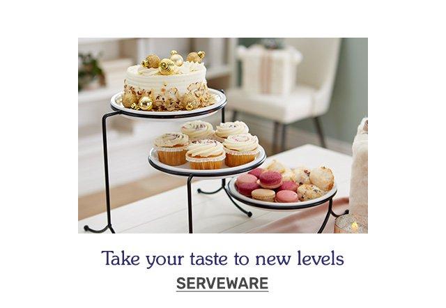 Shop serveware.