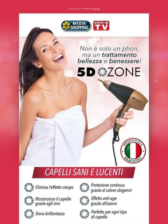 phon 5d ozone  MediaShopping: Phon Ozone: stop all'effetto crespo | Milled