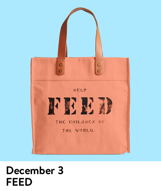 The Daily Drop gift of the day: FEED.