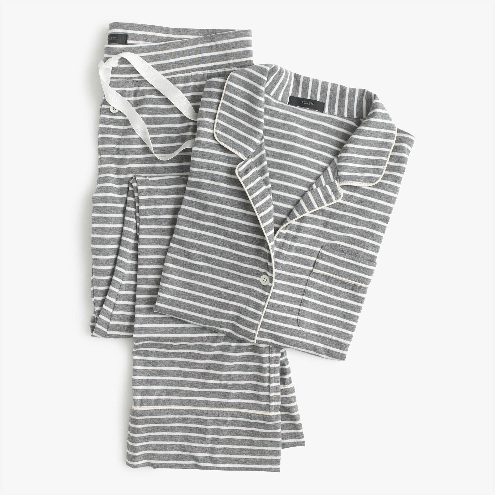 Dreamy cotton pajama set in stripe