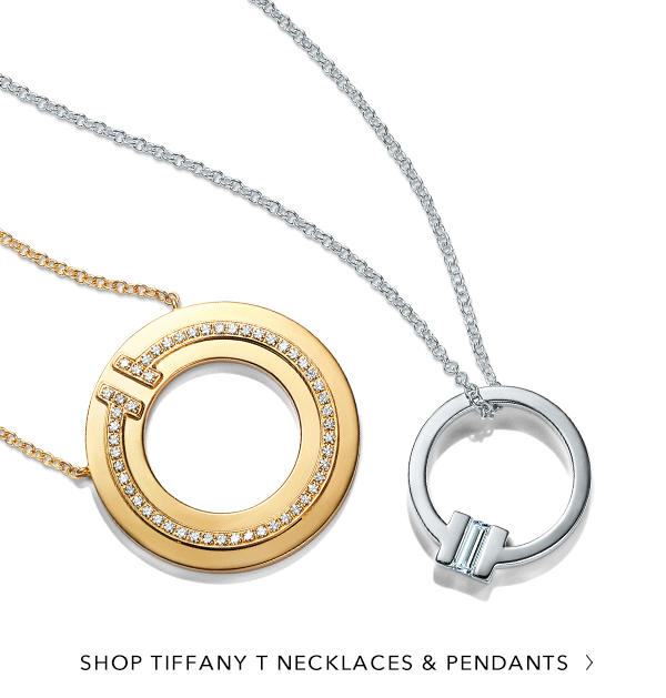 Shop Tiffany T Necklaces and Pendants