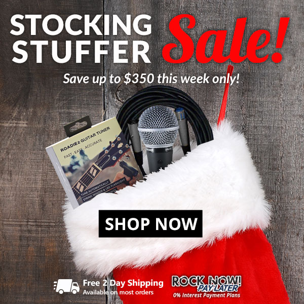 American Musical Supply: Stocking Stuffer Sale 🎅 Thousands of Items