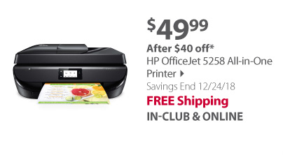 HP OfficeJet 5258 All-in-One Printer