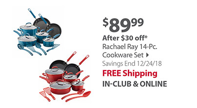 Simply Calphalon 14-Pc. Cookware Set
