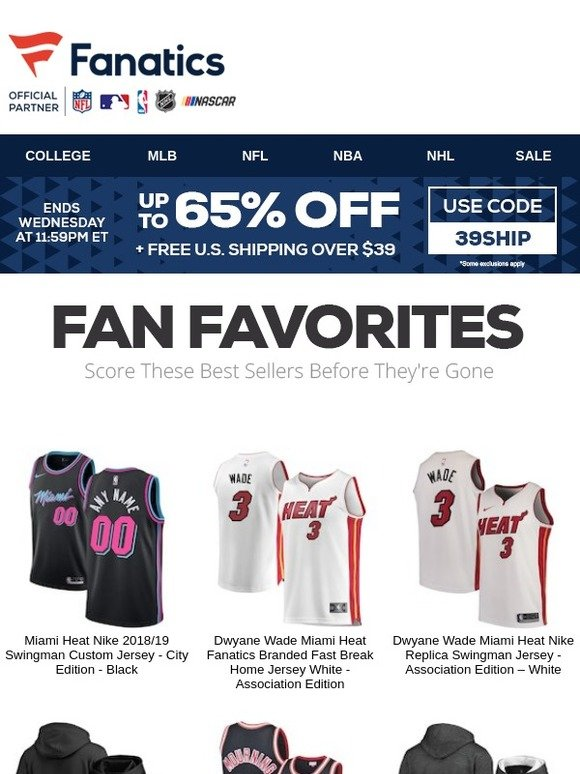 58cd8902d25 The NBA Store  Still Looking  Our Top Heat Picks...