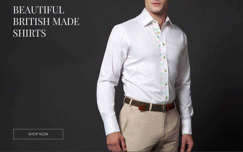 a402501ce3d Grosvenor Shirts London  Beautiful British Made Shirts...