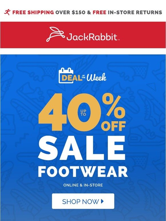 349bd72af Jack Rabbit  Ready To Save Big This Week