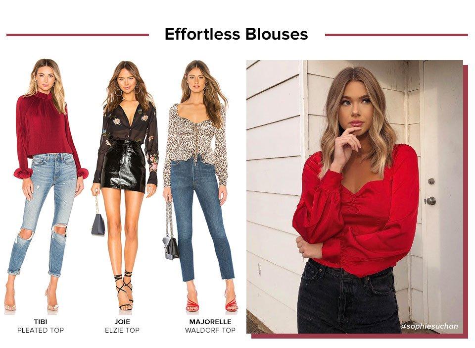 Effortless Blouses. Shop Blouses