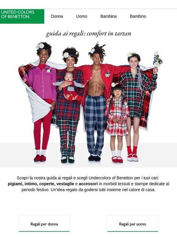 Milled Relax Regali Ai E Guida United Benetton Colors Tartan Of xwgpyYzq