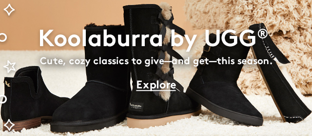 Koolaburra by UGG® | Cute, cozy classics to give—and get—this season. | Explore