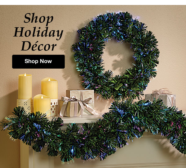 Shop Holiday Décor!