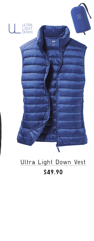ULTRA LIGHT DOWN VEST $49.90