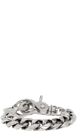 Martine Ali - Silver Cuban Link Bracelet