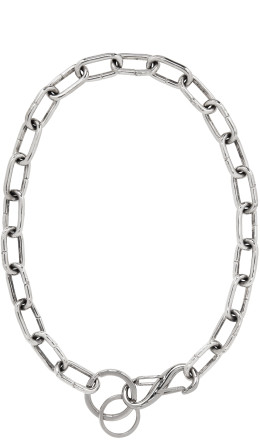 Martine Ali - Silver Gunnar Necklace