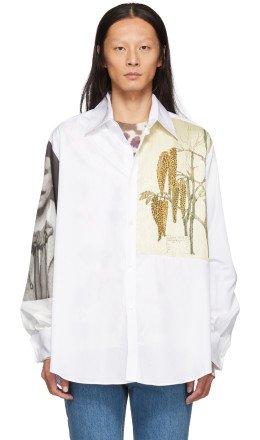 Loewe - White Botanical & Portrait Shirt