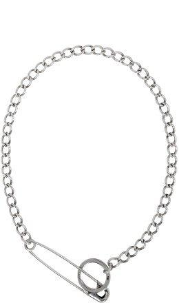 Martine Ali - Silver Pin Necklace