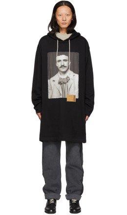 Loewe - Black Portrait Long Hoodie