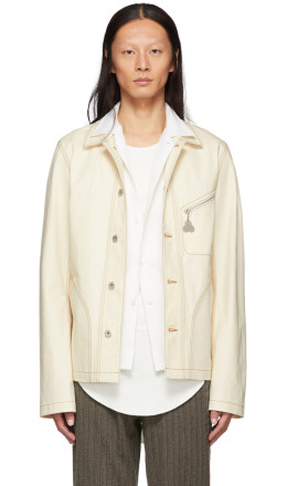 Loewe - Off-White Denim Botanical Jacket