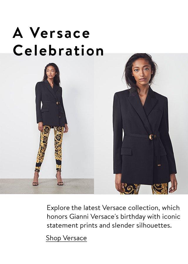 A Versace celebration.