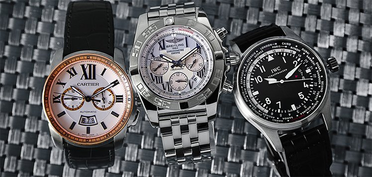 Men's Luxury Watches With Patek Philippe