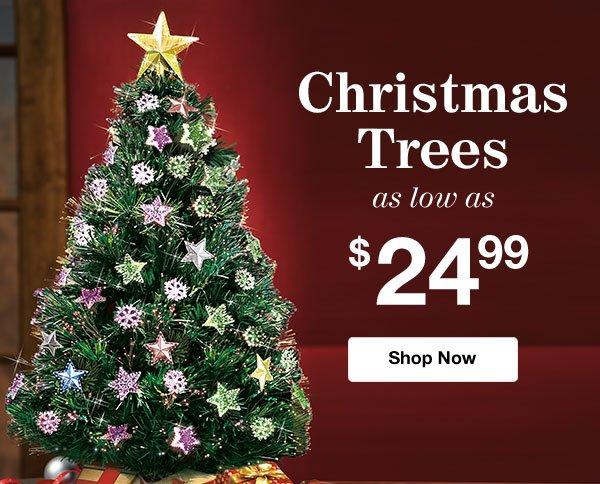 Shop Christmas Tress!