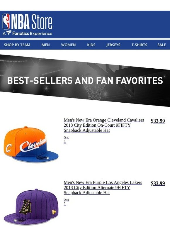 1e932a24b60 The NBA Store  Still Thinking It Over  Get It Today WIth Free Shipping