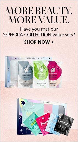 Shop Now Sephora Collection Value Sets