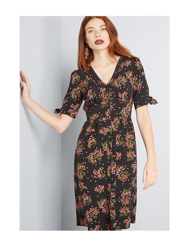 Fully Focused Shirt Dress