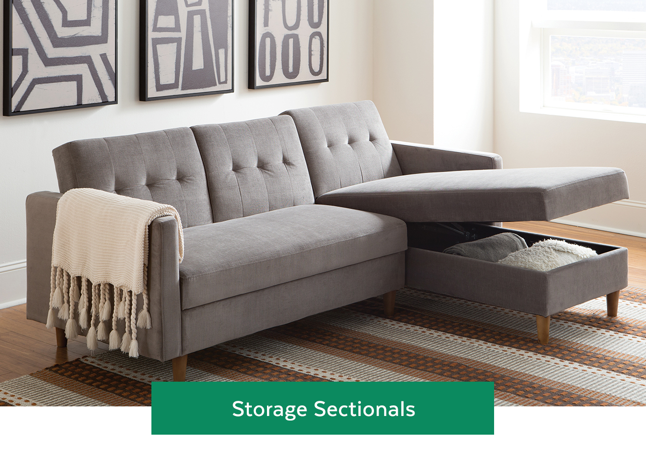 Storage Sectionals