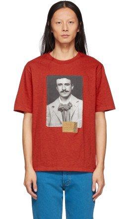 Loewe - Red Portrait T-Shirt