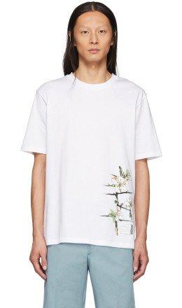 Loewe - White Botanical T-Shirt