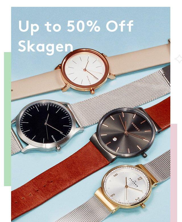 Up to 50% Off Skagen
