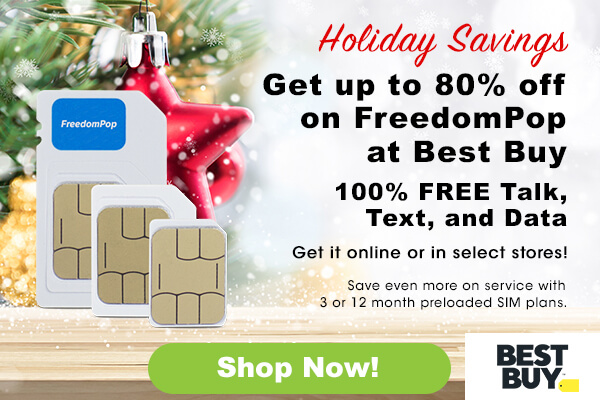 FreedomPop: Holiday Deals at Best Buy Start Now! | Milled