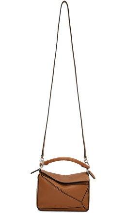 Loewe - Tan Mini Puzzle Bag