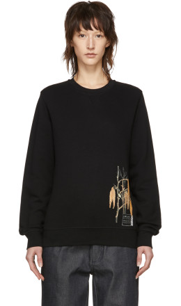 Loewe - Black Botanical Sweatshirt