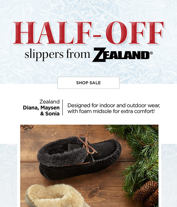 d4f8768a030 Foot Smart   50% OFF Cozy Slippers from Zealand – Limited Time Only ...