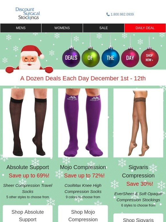 d8eb093e58 Discount Surgical Stockings: No Matter The Holiday - Day 5 Has Deals For  You... | Milled